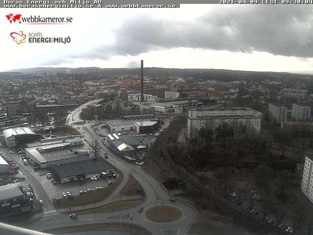 Webcam Borås, Borås, Västergötland, Schweden