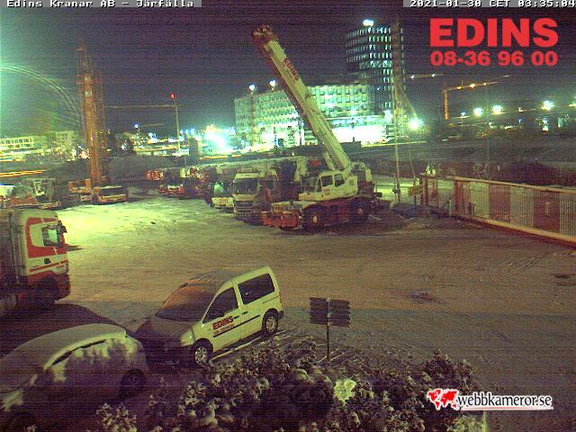 Webbkamera - Edins kranar