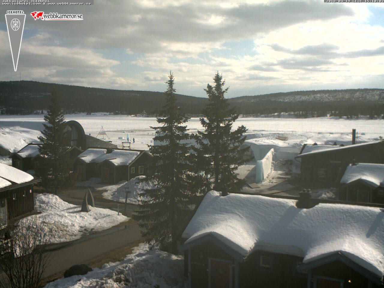 Webbkamera - ICEHOTEL, Jukkasjärvi